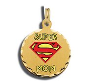 Mother s Day Super Mom Charm