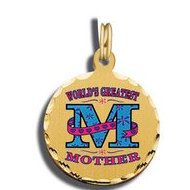Mother's Day Worlds Greatest Mom Charm