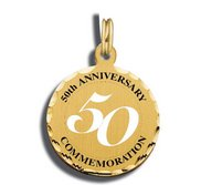 Happy 50th Anniversary Charm