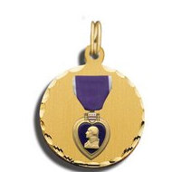 Purple Heart Charm