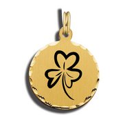 Three Leaf Clover Charm