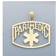 14K Filled Gold PARAMEDIC CHARM