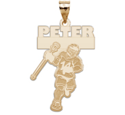 Custom Team Lacrosse Charm or Pendant