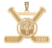 Exclusive Saint Sebastian Hockey Pendant