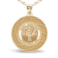 Exclusive Saint Sebastian Volleyball Medal