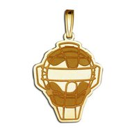 Softball Umpire Helmet Pendant