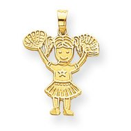 Cheerleader Charm or  Pendant