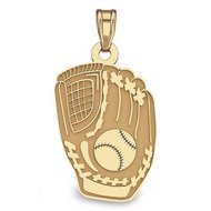 Custom Softball Glove Pendant