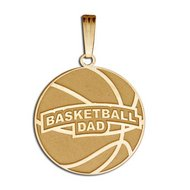 Basketball Dad Pendant