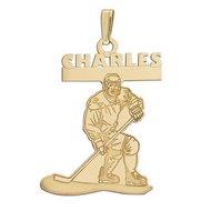 Custom Team Hockey Charm or Pendant
