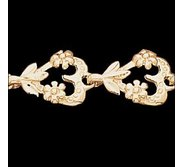 14K Yellow Gold Teen Heart Bracelet