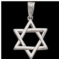 Sterling Silver Teen Star Of David Pendant