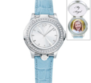 Portrait Watch Celeb in Blue for Women