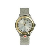 Portrait Watch Medical Identification Watch for Men