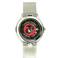 Portrait Watch U  S  Marine Corps Patriot Watch