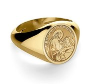 First Holy Communion Religious Ring for a Girl
