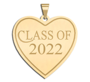 Class of 2015 Heart Charm