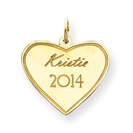 Personalized Graduation Charm