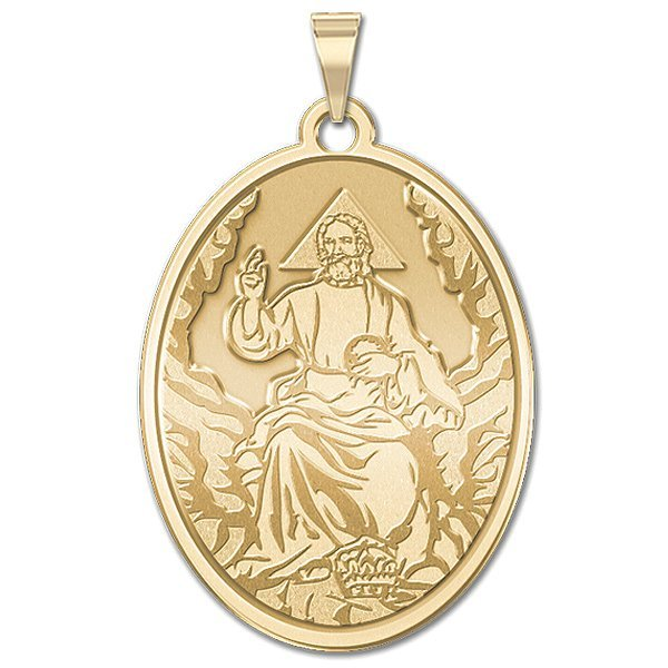 "GOD the Father Oval Medal""EXCLUSIVE"" - PG88108"