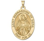 Saint Bernadine Of Siena Religious Medal   EXCLUSIVE