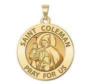 Saint Coleman Mac Duagh Religious Medal  EXCLUSIVE