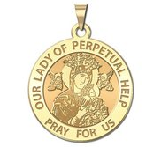 Our Lady of Perpetual Help Religious Medal  EXCLUSIVE