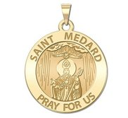 Saint Medard Religious Medal  EXCLUSIVE
