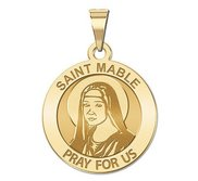 Saint Mable of Riom Religious Medal  EXCLUSIVE