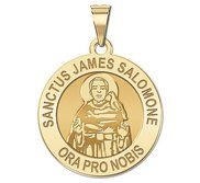 Sanctus James Salomone Religious Medal  EXCLUSIVE