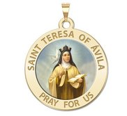 Saint Teresa of Avila  Color EXCLUSIVE