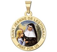 Saint Jeanne De Lestonnac Religious Color Medal    EXCLUSIVE