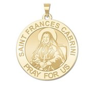 Saint Frances Cabrini Religious Medal   EXCLUSIVE