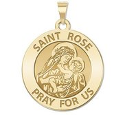 Saint Rose of Lima Religious Medal  EXCLUSIVE