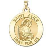 Saint Alice Religious Medal  EXCLUSIVE