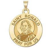 Saint Ronald Religious Medal    EXCLUSIVE