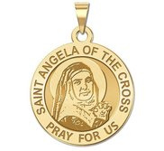 Saint Angela of the Cross Religious Medal  EXCLUSIVE