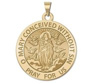 Immaculate Conception Religious Medal   EXCLUSIVE