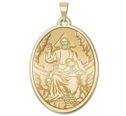 GOD the Father Oval Medal EXCLUSIVE