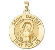 Saint Davnet Religious Medal  EXCLUSIVE