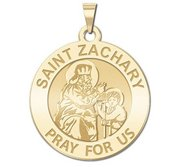 Saint Zachary Religious Medal    EXCLUSIVE
