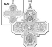 Four Way Religious Medal   EXCLUSIVE
