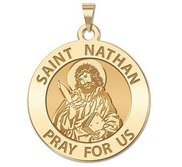 Saint Nathan Religious Medal  EXCLUSIVE