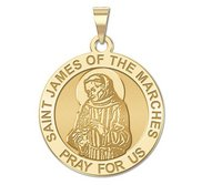 Saint James of the Marches Religious Medal  EXCLUSIVE