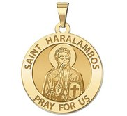 Saint Haralambos Religious Medal   EXCLUSIVE