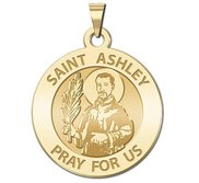 Saint Ashley Religious Medal  EXCLUSIVE