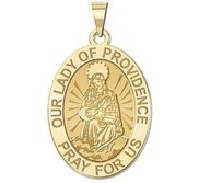 Our Lady of Providence Medal   Oval  EXCLUSIVE