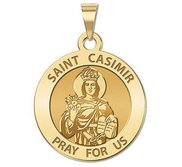 Saint Casimir Religious Medal  EXCLUSIVE