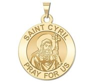 Saint Cyril of Alexandria Religious Medal    EXCLUSIVE