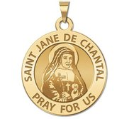 Saint Jane De Chantal Religious Medal    EXCLUSIVE