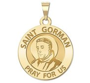 Saint Gorman Religious Medal  EXCLUSIVE